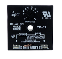 Supco Td69 Time Delay