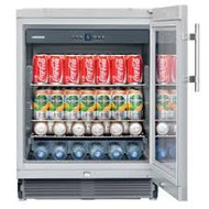 LIEBHERR UKES1752 131L GLASS-DOOR BEVERAGE CENTRE