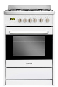 Parmco FS600-WHT Gas-Cooktop Electric Oven 600mm