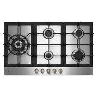 Parmco HO-6-9S-4GW Stainless Gas Hob with Wok-Burner 900mm