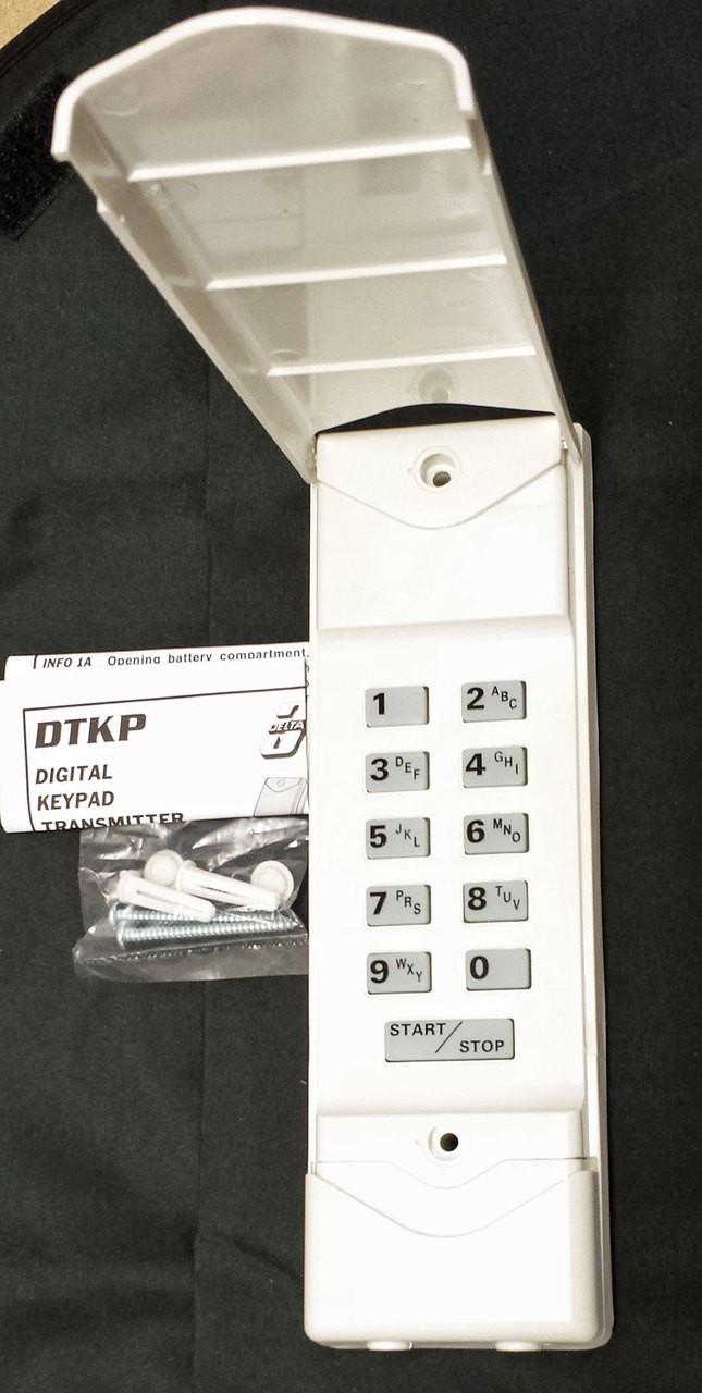 Dtkp delta 3 linear keyless entry keypad for garage door for Garage door keypad repair
