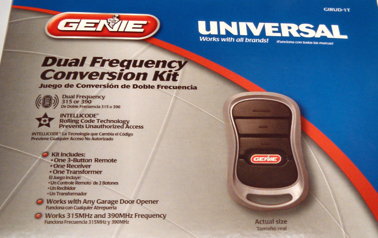 Genie Girud 1t Garage Opener Remote Amp Receiver Conversion
