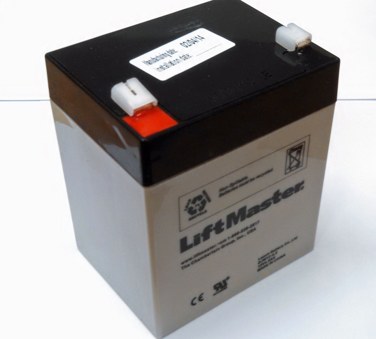 485LM LiftMaster EverCharge Battery WD962KEV And LW5000EV