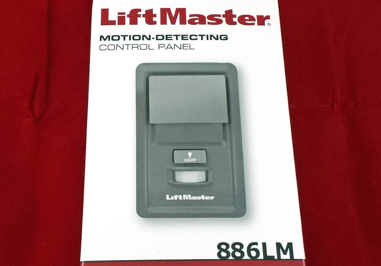 886lm Liftmaster Motion Detecting Multi Function Garage