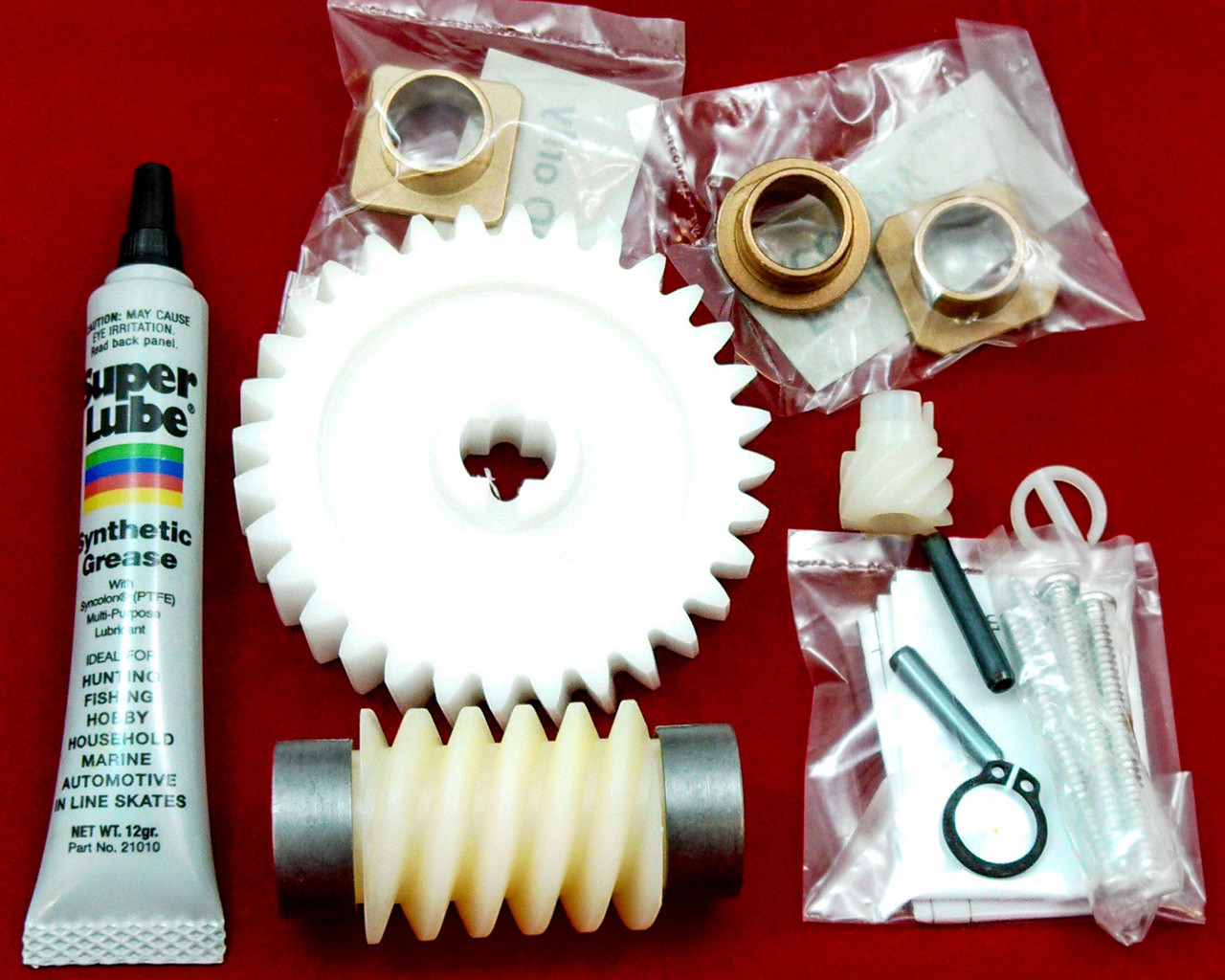 Hae00047 Linear Garage Door Opener Drive Gear Repair Kit