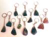 Get Stoned - Gemstone Keyrings - Dark Green