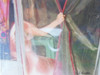 Clear Curtain in Oman  Giclee