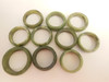 Vintage- Simple Jade Rings