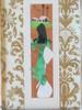 Ao Dai from Vietnam- silk and paper art- Framed