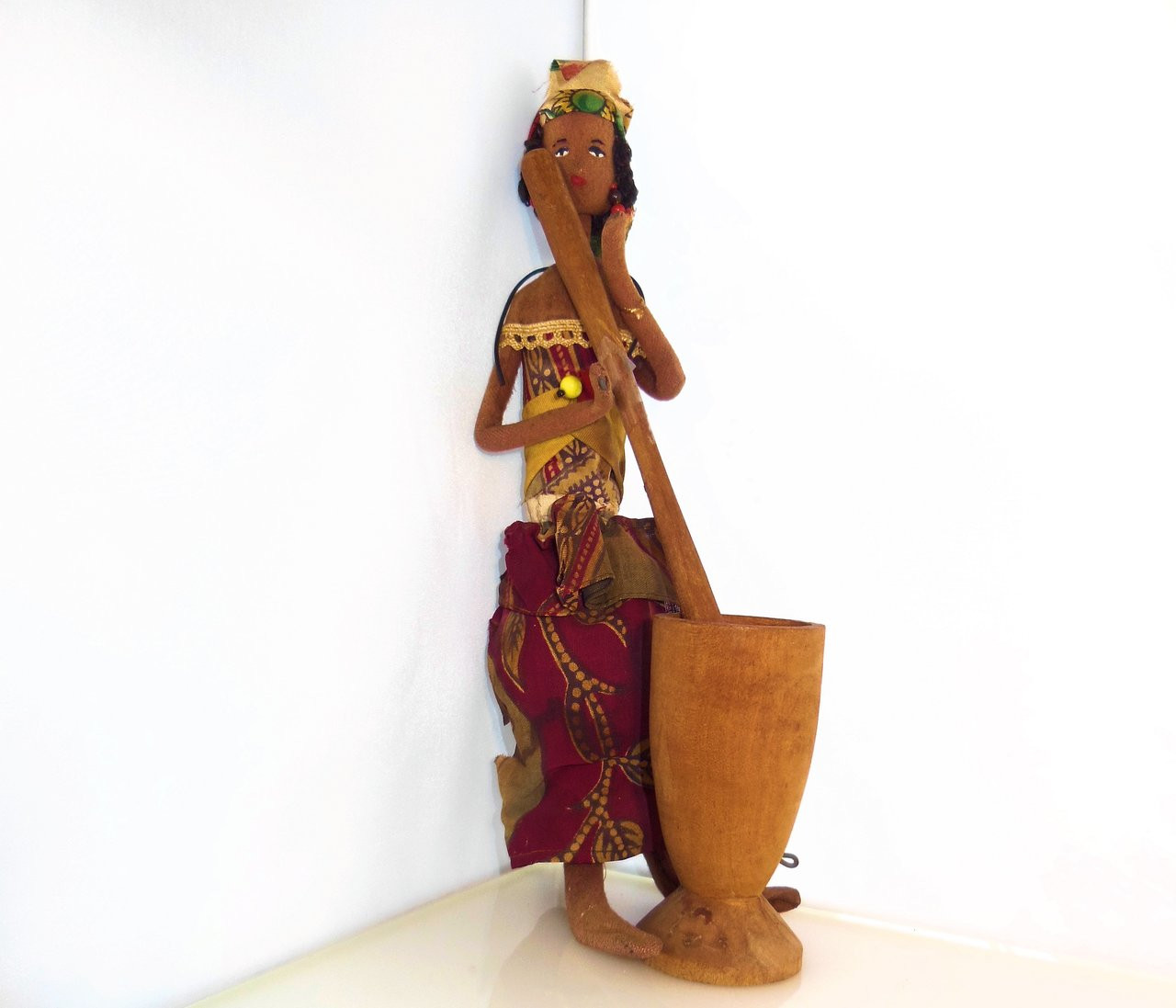 Antique African doll