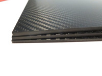 3mm 3K Twill premium Carbon Fiber sheet 200x300mm