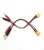 XT60 - 4mm Banana 16AWG Charging lead  2Pcs