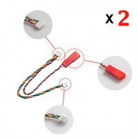 AKK vtx Replacement Silicone Cable Connector 2pcs
