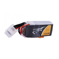 Tattu 650mAh 4S1P 75C 14.8V Lipo Battery with XT30 Plug