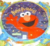 Elmo Sesame Street Party Pinata Custom NeW