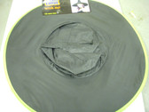 Witch Hat Black Neon Green Trim Costume Dress-up NWT