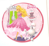 Barbie Fashion Pink edible cake image NEW