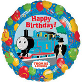 "Thomas the Tank Engine Mylar Balloon Birthday Party 18"" NIP"