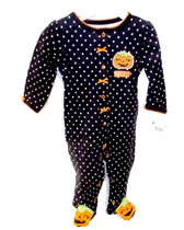Baby's First Halloween Infant Girls Black White 1 Piece Jumpsuit NWT