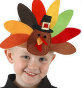 Turkey Headband Costume Thanksgiving Day Party NWT