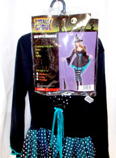 Bewitching Witch Adult Women Dress Costume M L NWT