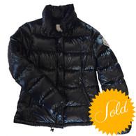 Moncler Navy Down Jacket