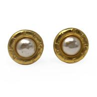 Karl Lagerfeld Clip Earrings