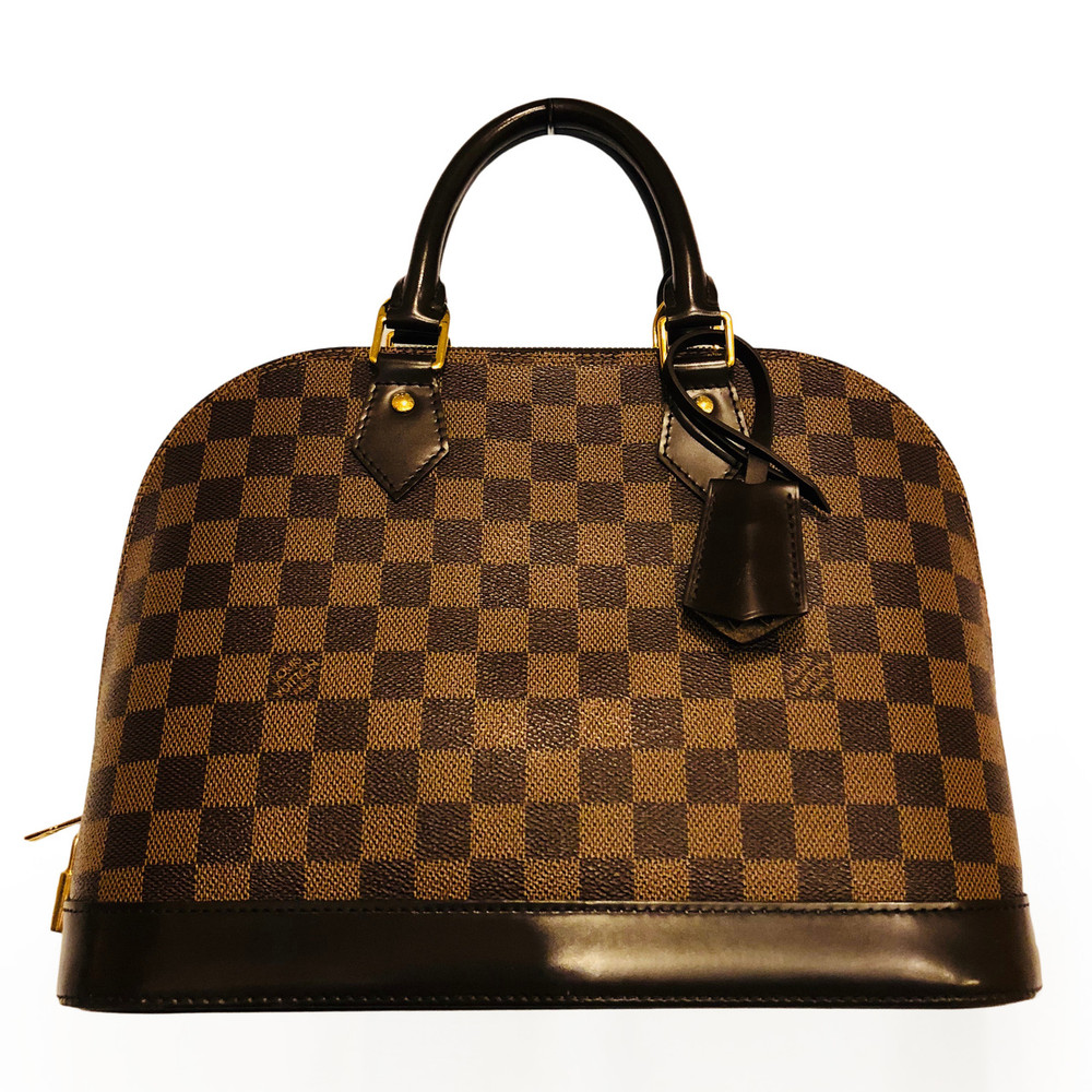 Louis Vuitton Damier Ebene Alma PM Handbag at Secondi Consignment 3377c91272a63