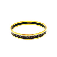 Hermès Pinwheel Narrow Bangle