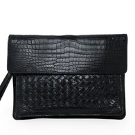 Bottega Veneta Crocodile Clutch