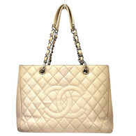 Chanel Beige Grand Shopper Tote