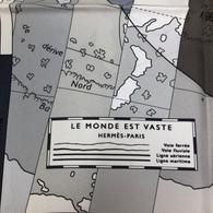 """Hermès """"Le Monde est Vaste"""" Scarf"""
