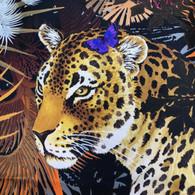 Ferragamo Leopard Scarf