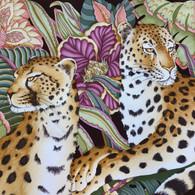 Ferragamo Cheetah Scarf