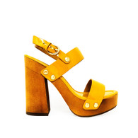 Joie Golden Yellow Heels