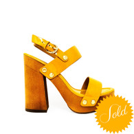 Joie Golden Yellow Heels