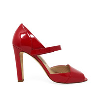 Manolo Blahnik Fire-Red Heel