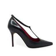 Manolo Blahnik T-Strap Heels