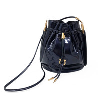 Ferragamo Midnight Blue Bucket Bag