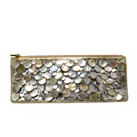 Trina Turk Mother of Pearl Clutch