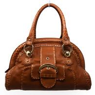 Céline Croc-Embossed Handbag