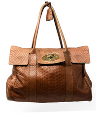 "Mulberry Snakeskin ""Bayswater"" Purse"