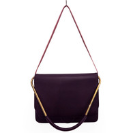 Roksanda Purple Satchel