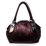 Prada Purple Pitone Handbag