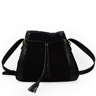 Judith Leiber Black Appliqué Purse
