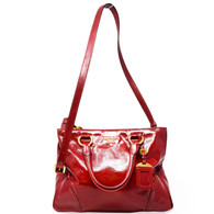 Prada Red Shopper Purse