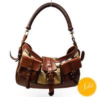 Burberry Check Saddle Bag