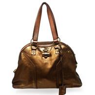 YSL Bronze Muse Handbag