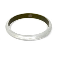 Alexis Bittar Clear Lucite Bangle