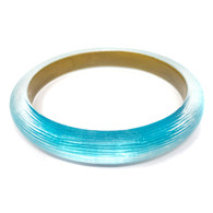 Alexis Bittar Turquoise Lucite Bangle